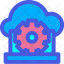 Cloud Setting Cloud Configuration Cloud Configure Icon