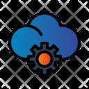 Setting Gear Cloud Icon