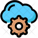 Cloud Settings Network Icon