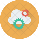 Cloud Settings Cog Icon