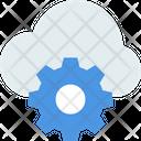M Settings Cloud Setting Cloud Configuration Icon