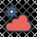 Cloud setting Icon