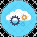 Cloud Setting Cloud Configuration Cloud Maintenance Icon