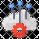 Cloud Computing Cloud Network Cloud Technology Icon