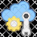 Cloud Management Cloud Setting Cloud Configure Icon