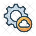 Cloud Setting Icon