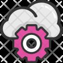 Cloud Technology Maintenance Icon