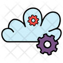 Cloud Maintenance Cloud Optimization Cloud Settings Icon