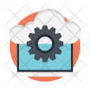 Cloud Setting Configuration Icon