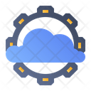 Cloud Settings Maintenance Icon