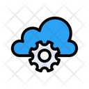 Cloud Setting Configure Icon