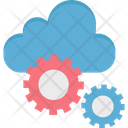 Cloud Settings Cloud Application Cloud Computing Icon