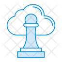 Cloud Stamp Approved Icon