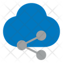 Share Link Cloud Icon