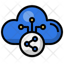 Cloud Share Share Network Icon