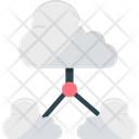 Cloud Share Cloud Backup Cloud Computing Icon