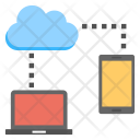 Cloud Share Icon