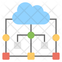 Cloud Shared Connection Icon