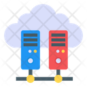Cloud Shared Server Icon