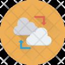 Data Share Cloud Icon