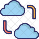Cloud Network Cloud Sharing Cloud Computing Icon