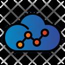 Cloud Seo Data Icon