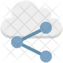 Cloud Share Share Connection Icon