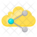 Cloud Sharing Icon