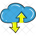 Cloud Sharing Data Icon