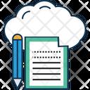 Cloud Sheet Icon