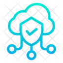 Cloud Shield Icon