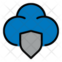 Shield Protect Cloud Icon