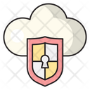 Shield Security Cloud Icon