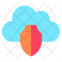 Cloud Shield Protection Shield Icon
