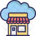Cloud Shop Icon