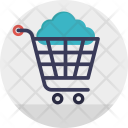 Cloud Shopping Cart Icon