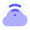 Cloud-signal Icon
