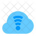 Cloud Signal Cloud Network Icon