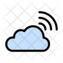 Cloud Signal Technology Icon
