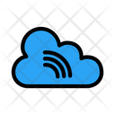 Cloud Signal Media Icon