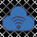 Cloud Signal Wifi Icon