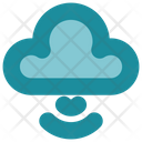 Cloud Storage Signals Icon