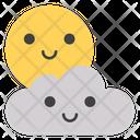 Cloud Smiley Icon