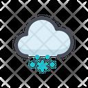 Cloud Snow Snowflake Snow Icon