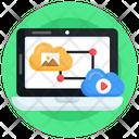Cloud Connection Cloud Social Media Cloud Data Icon
