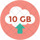 Cloud space Icon