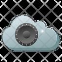 Cloud Media Cloud Music Cloud Entertainment Icon