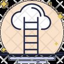 Cloud Stair Cloud Ladder Stair Icon