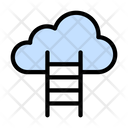 Cloud Stair Icon