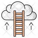Career Success Cloud Icon